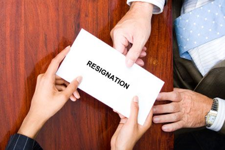 Thinking about resigning and not sure how to do it right? Follow - resigning right