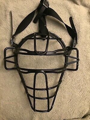Vintage Metal Face Cage Umpire Baseball Mask Vintage Metal Metal Fashion Accessories