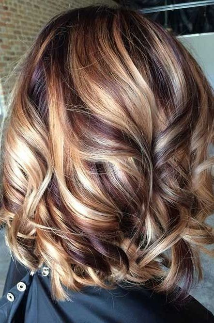 50 Hair Color Ideas For Short Hair Color Inspirations For 2019 With Hairstyle Hair Highlights And Lowlights Brunette Hair Color Hair Inspiration Color
