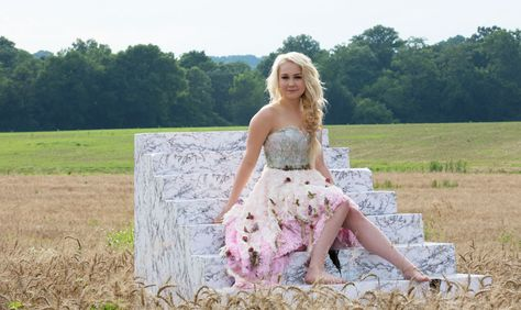 "Video:  RaeLynn singing ""God Made Girls"". Gorgeous scenery and cute song."