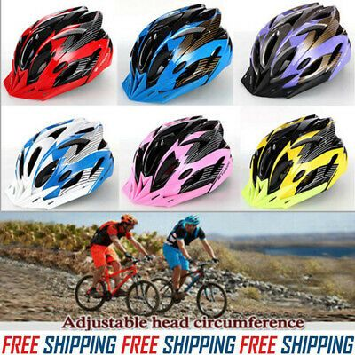 Ad Ebay Hot Cycling Bicycle Adult Men Womens Bike Helmet With
