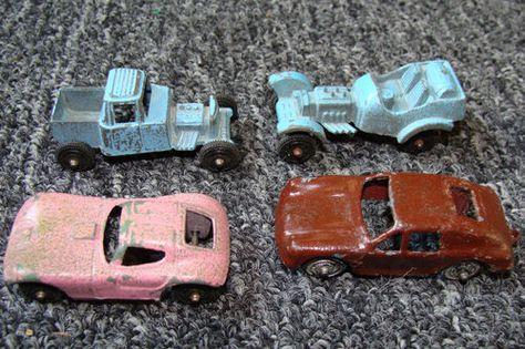 Trucks lot of 13 vehicles Vintage Tootsietoy Cars