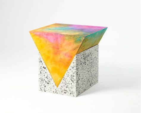 Fredrik Paulsen, PRISM occasional tables - Love the Memphis inspiration