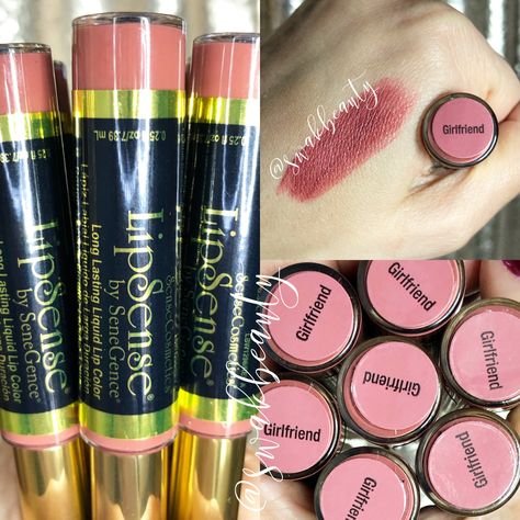 NEW LIMITED EDITION GIRLFRIEND LIPSENSE - Independent LipSense/SeneGence Distributor #348931 swakbeauty.com @swakbeauty