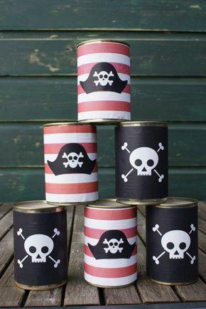 Deko Spiele ideen für die piraten kindergeburtstags deko spiele