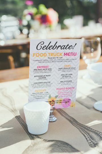 Food Truck Wedding Idea Wedding Menu Border Grill Catering Restaurants With Images Food Truck Wedding Wedding Food Truck Receptions Wedding Food Truck Catering
