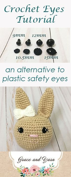Tiny doll crochet / how to embroidery doll eyes - YouTube | 720x288