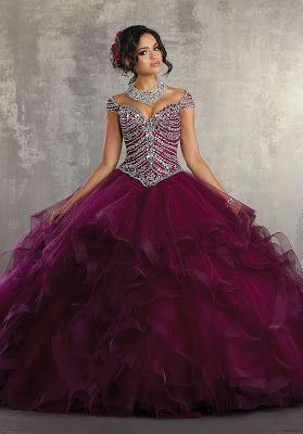 Vestidos De Xv Color Vino Vestidos De Quinceañera