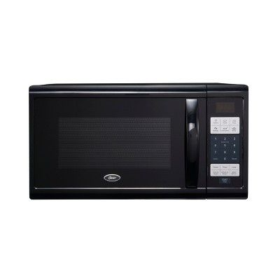 Oster 1 1 Cu Ft 1100w Digital Microwave Oven Black Ogzj1104