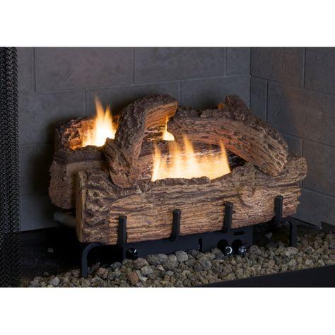 Super Everwarm 18 Palmetto Oak Ventless Propane Gas Log Set With Download Free Architecture Designs Scobabritishbridgeorg