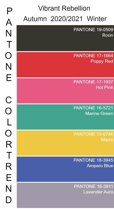 #color #trend #pantone #2020 #2021 #autumn #winter