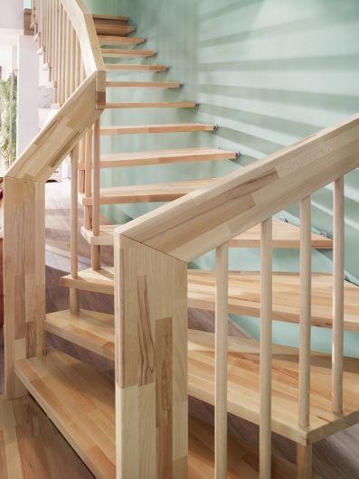 Escalier Suspendu En Bois Essence De Bois Hetre Escalier Design