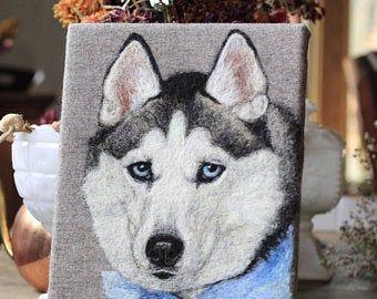 Stiles Christmas Tree Farm 2020 Custom horse portrait needle felted by Noelle Stiles pet | Etsy in