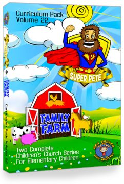 "Curriculum Pack  Vol. 22:  ""SUPER PETE"" & ""FAMILY FARM"""