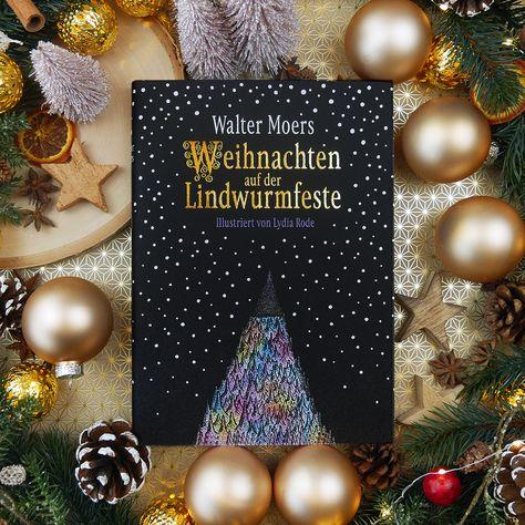 Buchgeschenkefinder Adventskalender Tag 24 Weihnachten Auf Der Lindwurmfeste Von Walter Moers Ist Diy Geschenkideen Weihnachten Weihnachten Buch Geschenke