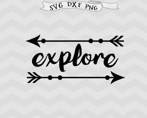 Explore Svg Adventure Svg Inspirational Svg Cricut Downloads Etsy Arrow Svg Cricut Svg