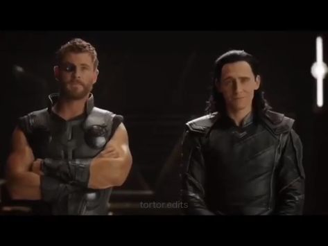 Thor and Loki edit