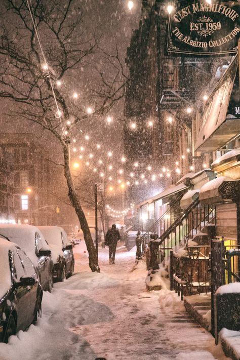 Winter Night - New York City - {by Vivienne Gucwa}