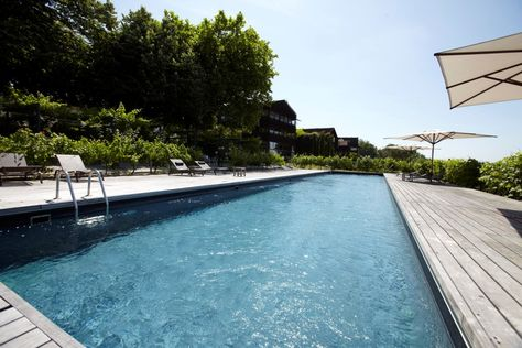 Swimming Pool At Le Saint James Bordeaux France Luxury