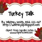 Turkey Talk is an activity to get your students (or your kids) talking! This material pack consists of Thanksgiving-related topic starters. Included are pumpkin pie pieces the students can get for responding appropriately to the topic. You can decide how many pieces make a whole pie!
