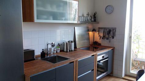 Modulküchen bloc Modulküche Kitchens Pinterest Kitchens and - massivholz arbeitsplatte küche