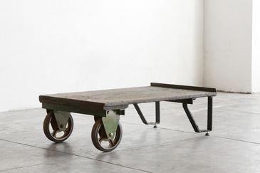 Vintage Industrial Cart Coffee Table Vintageindustrialfurniture Vintage Industrial Furniture Cart Coffee Table Coffee Table
