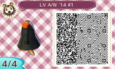 Louis Vuitton Autumn Winter 2014 1 Animal Crossing Acnl
