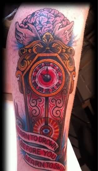 Grandfather Clock Tattoo Outline Grandfathertattoo Grandfather Clock Tattoo Outline Grandfathertatt Grandfather Clock Tattoo Clock Tattoo Clock Tattoo Design