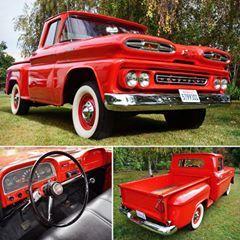 Chevrolet Apache C10 1 2 Ton Step Side 1961 Escola De