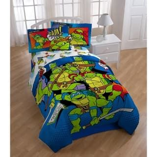Nickelodeon Teenage Mutant Ninja Turtles Retro Bam Kapow Reversible Oversized Twin Com Teenage Mutant Ninja Turtles Bedroom Ninja Turtle Bedroom Turtle Bedroom