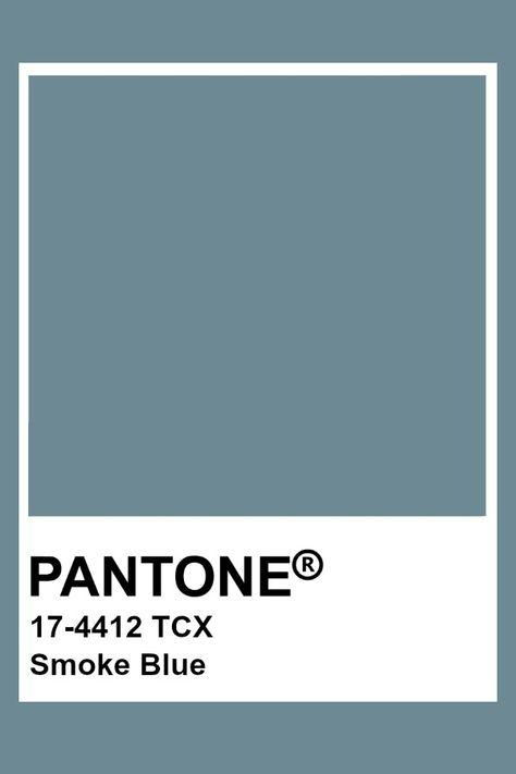 Pantone Smoke Blue