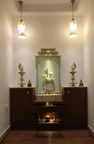small pooja cabinet designs and ideas - home makeover   home