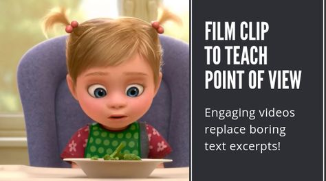 Teach Point of View with Pixar – common core english with easeYou can find Point of view and more on our website.Teach Point of View with Pixar – common core english with ease Teaching Language Arts, English Language Arts, Teaching English, Education English, Middle School Reading, 4th Grade Reading, Literacy Activities, Literacy Centers, Readers Workshop