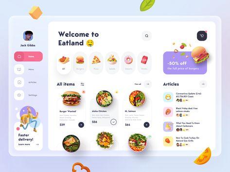 Food Delivery service - App Design