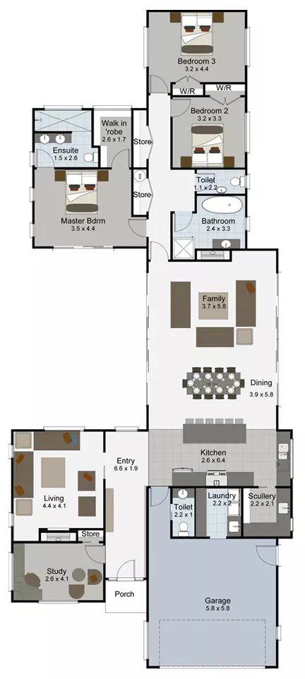 waiata 3 bedroom house plans landmark homes builders nz - House Plans Landmark Homes New Zealand