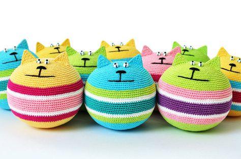 Colorful Stress Relief Cats by Sasha Kulakova