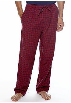 Saddlebred® Flannel Plaid Loungewear Pant #belk #mensfashion