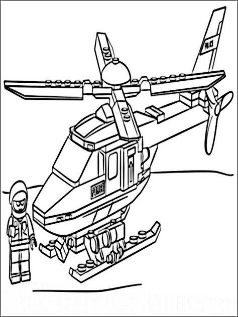 lego polizei 1 ausmalbilder für kinder malvorlagen zum