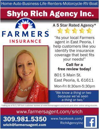 Shylo Rich Agency Inc Farmer S Insurance Agent Farmers