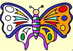 Juegos De Matemáticas Juegos Cokitos Simetria Juegos De Matemáticas Mariposas De Colores