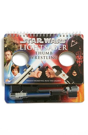 Get your thumbs ready!  'Star Wars™ Lightsaber Thumb Wrestling' Book