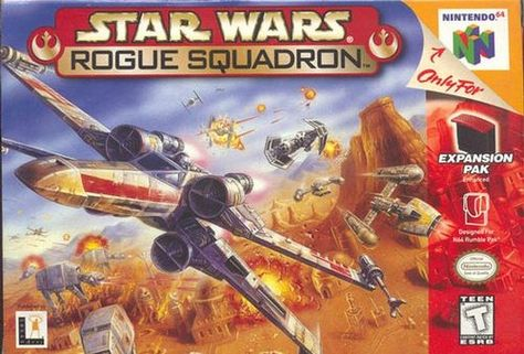 Star Wars Rogue Squadron N64 Game With Images Star Wars