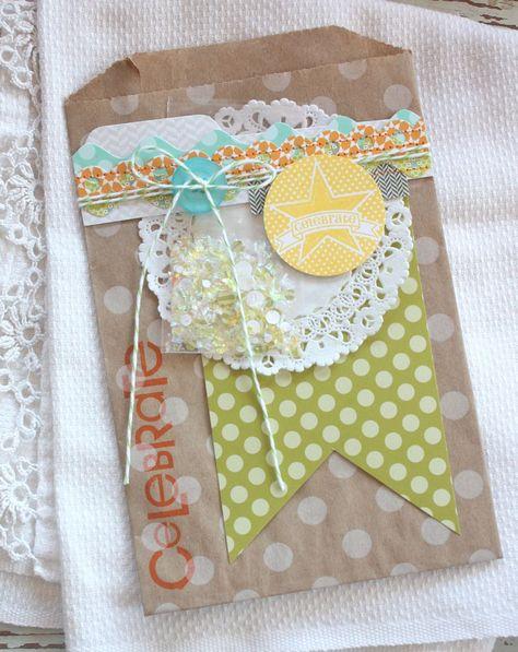 Snow Confetti Gift Sacks...