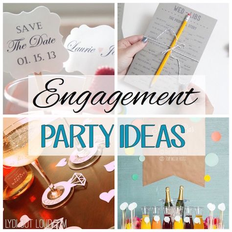 If you're planning to host an engagement party for newly engaged friends or family members, these ideas are sure to impress and may even rival the wedding!
