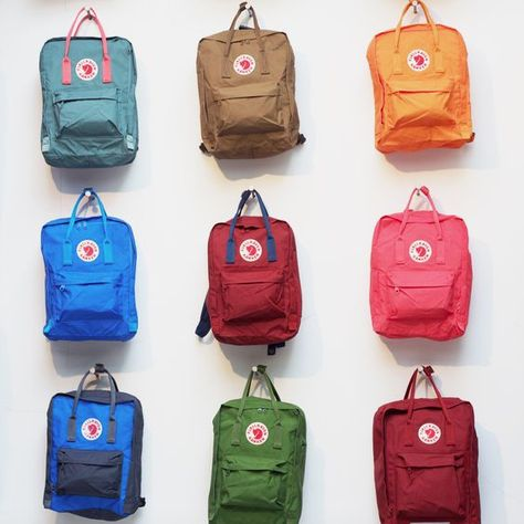 Buy the Fjallraven Kanken Backpack at eBags - With a classic look that never goes out of style, this backpack is perfect for the modern traveler w