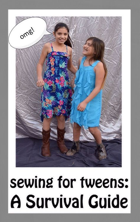 Tween Sewing Survival Guide + Photo Shoot - Sews and Bows