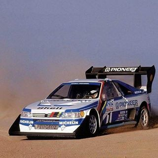 Peugeot 405 T16 1987 Ari Vatanen Broke Audi S Record For