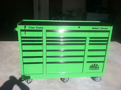 MAC Tools Select Series MB4280C-LG 20-Drawer Lime Green Rolling ...