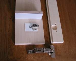 How to make a European hinge compatible with lipped doors (inset 3 ...