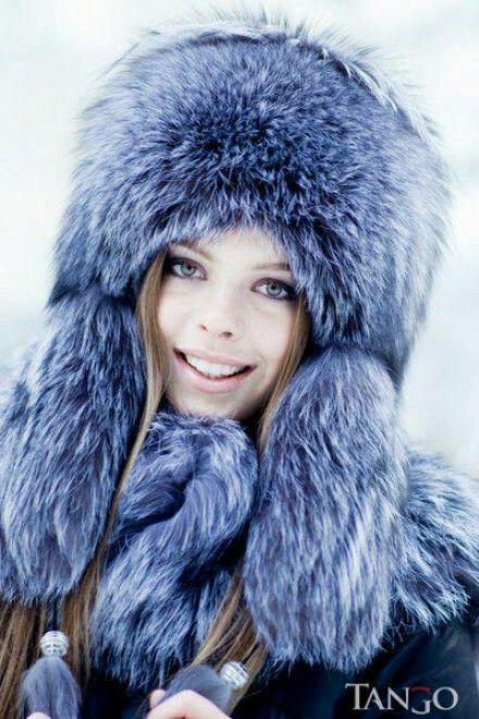 Pin by furlove on fur hat 4 | Hood hat, Winter hats, Fur hood